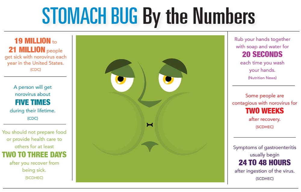 INFOGRAPHIC: Stomach Bug by the Numbers