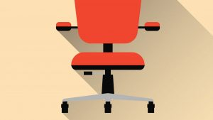 Image of an ergonomic chair for the The Importance of Ergonomics article