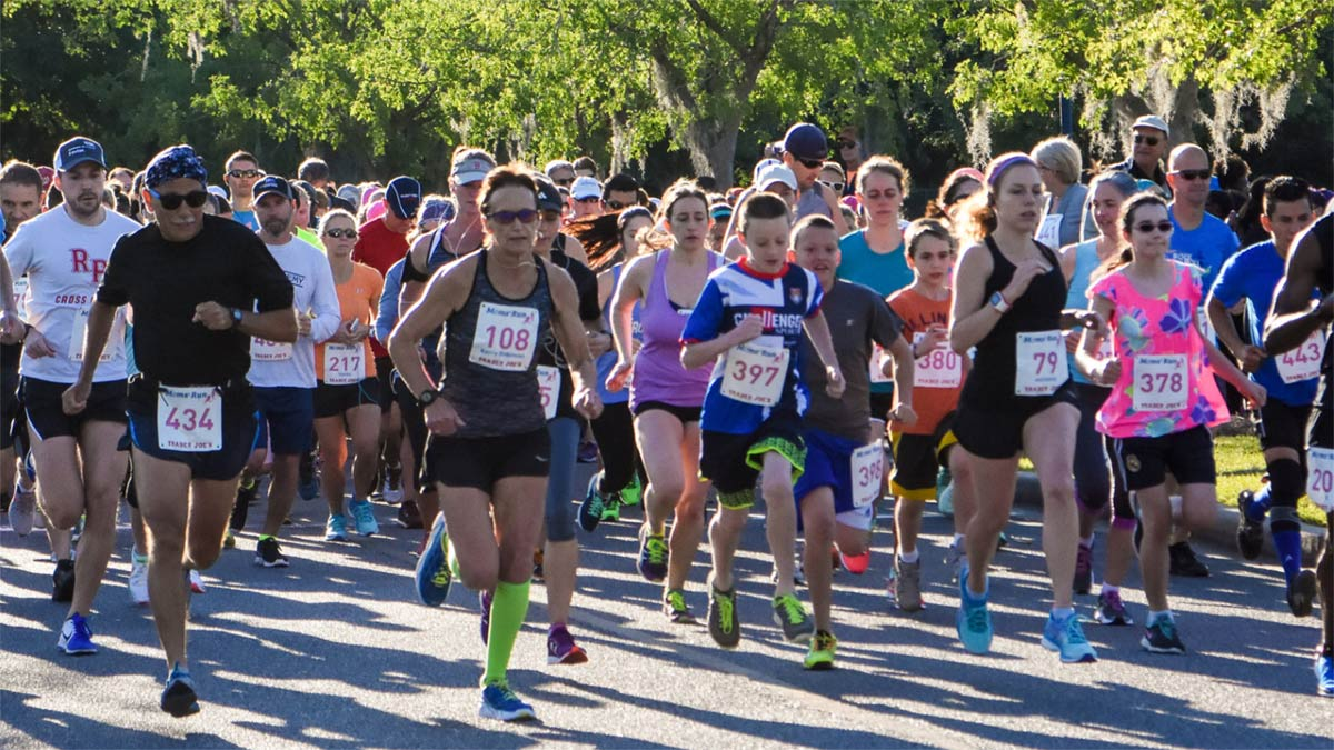 Postpartum Support Charleston hosts an annual Moms' Run + Family Fun Day on Mother's Day weekend