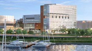 Artist's rendering of the MUSC Shawn Jenkins Children's Hospital. Provided by MUSC.