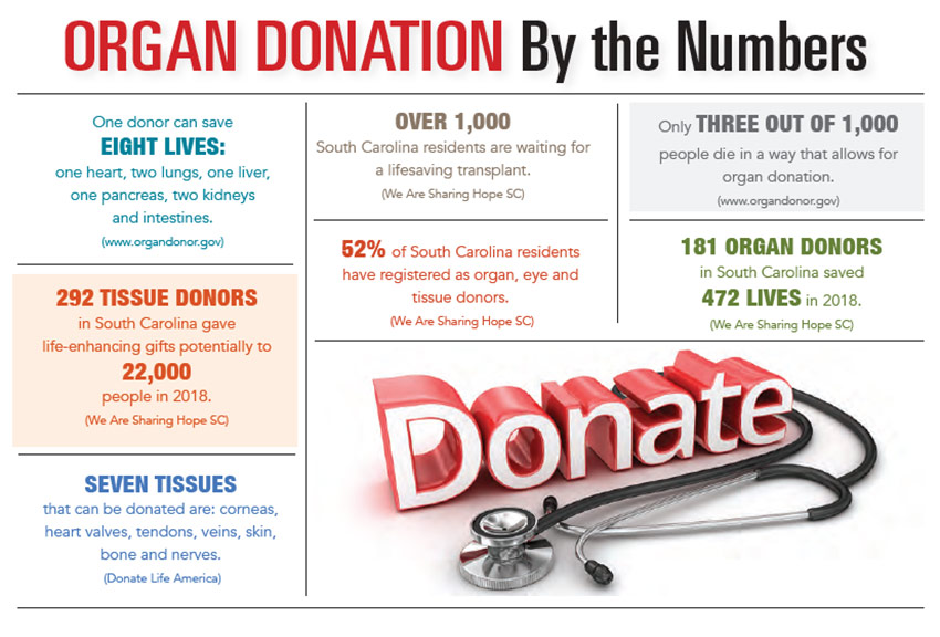 INFOGRAPHIC: Organ Donation by the Numbers