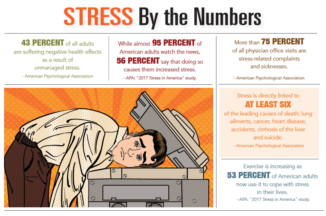 INFOGRAPHIC - Stress by the Numbers