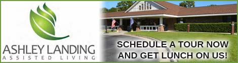 Tour for lunch with Ashley Landing Assisted Living  - click to learn more
