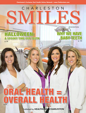 Charleston Smiles 2018 dental magazine cover
