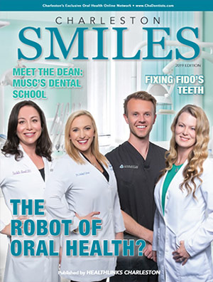 Charleston Smiles 2019 dental magazine cover