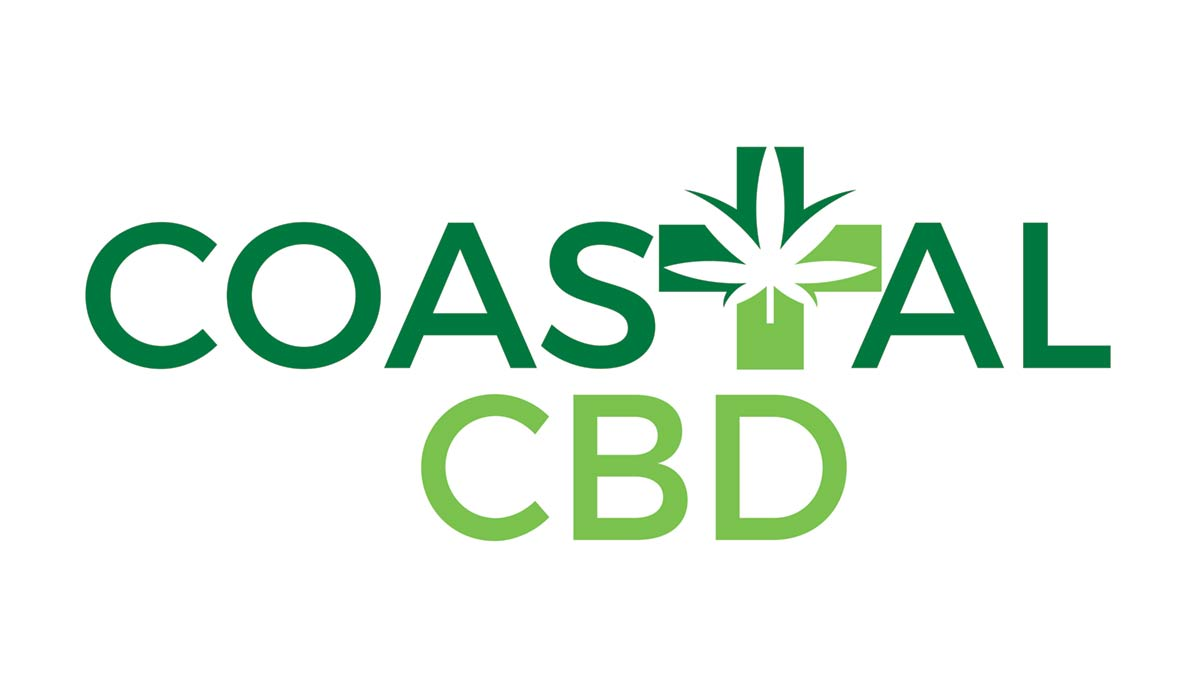 Coastal CBD logo.  Coastal CBD offers the Highest Quality CBD Oils & CBD Products