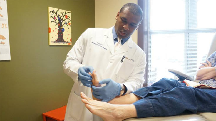 Coastal Podiatry, LLC with locations in Moncks Corner, SC and Mount Pleasant, SC