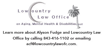 Contact Lowcountry Law Office on Aging, Mental Health & Disabilities, LLC