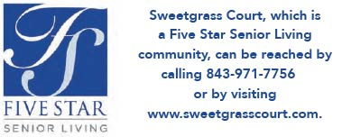 Contact Sweetgrass Court, a Five Star Senior Living community
