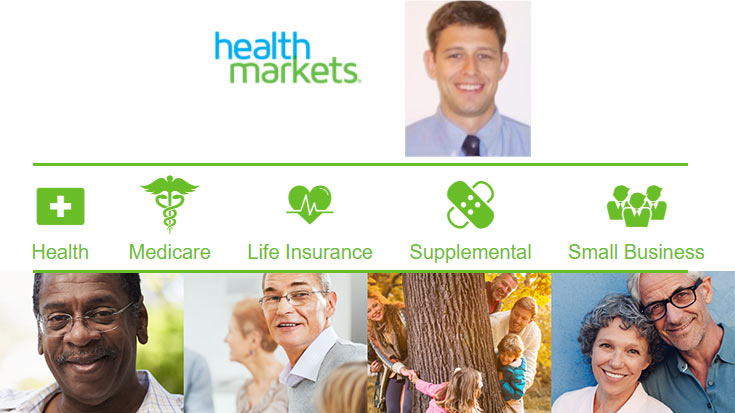HealthMarkets in Mount Pleasant, SC. Choosing insurance plans can be difficult. That's why Jordan Bass will make it easy.