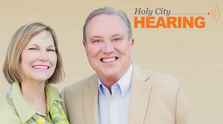Holy City Hearing logo and owners