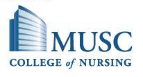 MUSC College of Nursing - logo