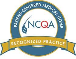 NCQA Patient-Centered Medical Home recognized Practice logo