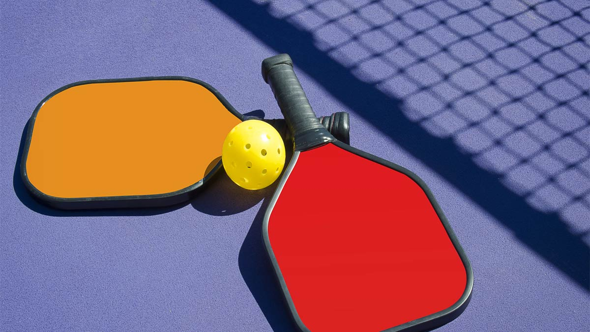 Pickleball rackets and ball - Stay Fit with Pickleball. Pickleball, what is it?