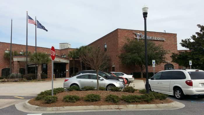 Vibra Hospital Charleston in nearby Mt Pleasant