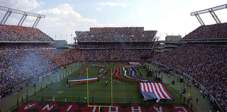 Williams-Brice Stadium in Columbia holds 80,000 people. There are more people in South Carolina with Alzheimer's than the stadium can hold.