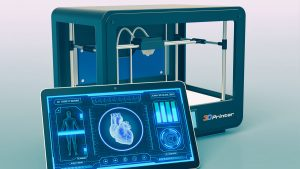 biofabrication and tissue engineering involve the 3D printing of living tissue