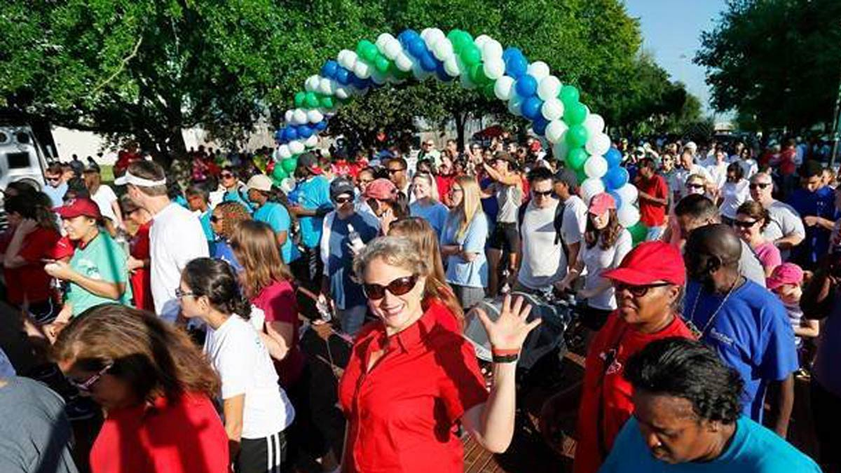 Heart Walks get the word out about heart disease.
