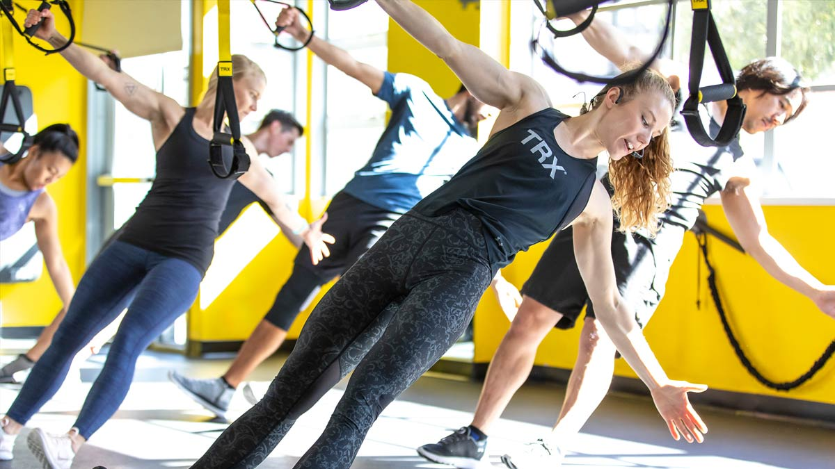 TRX boasts that its exercises are for ANYbody. The suspension straps leverage body weight and gravity to help you build strength, lose weight and increase flexibility, regardless of your age or fitness level.