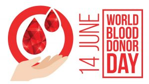 World Blood Donor Day, June 14th