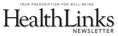 HealthLinks Newsletter logo. Stay informed.