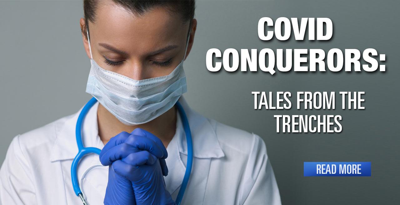 COVID Conquerors: Local Nurses Battle COVID-19 in New York