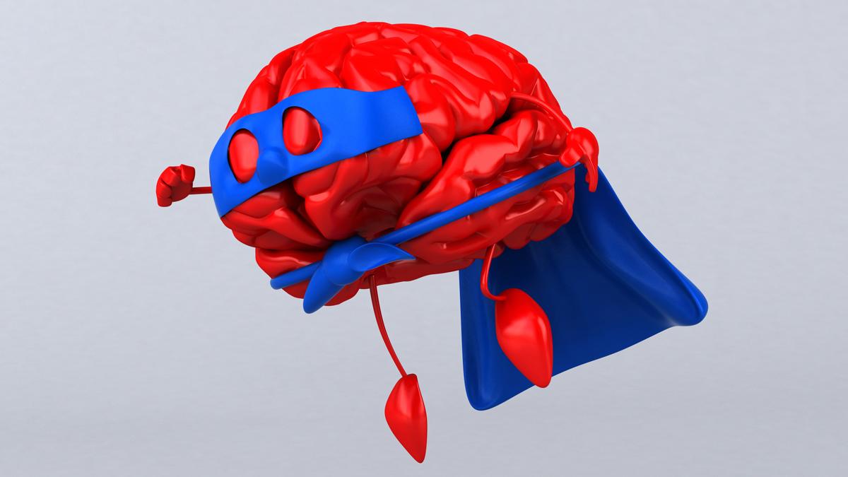 Photo illustration for Brain Power