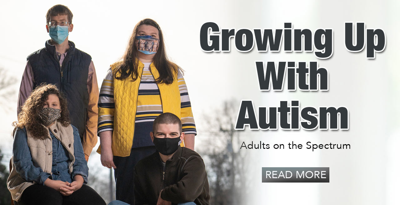 Banner: Growing up with Autism