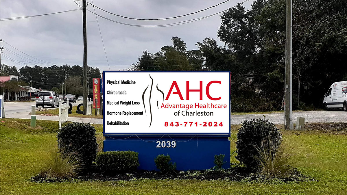 Advantage Healthcare of Charleston has locations in Summerville and Goose Creek, SC. Services include Physical Medicine, Chiropractic, Medical Weight Loss Hormone Replacement and Rehabilitation.