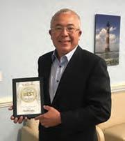 DR. MORRIS J. WASH named BEST BARIATRIC DOCTOR