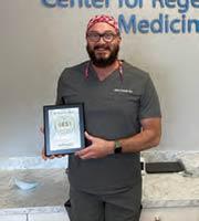 DR. JEFFREY FARRICIELLI named BEST REGENERATIVE MEDICINE