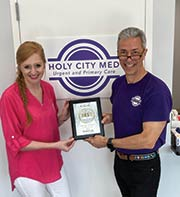 HOLY CITY MED URGENT AND PRIMARY CARE named BEST URGENT CARE