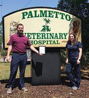 PALMETTO VETERINARY HOSPITAL named BEST VETERINARY CLINIC
