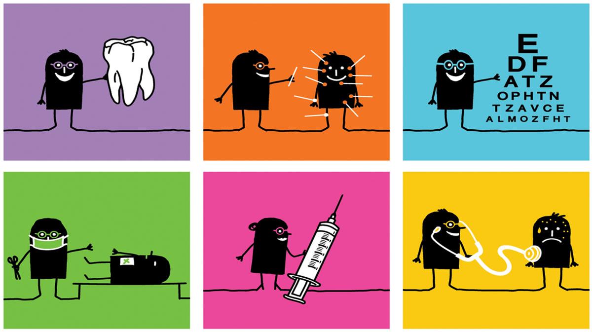 Illustrtation: delaying preventive health care