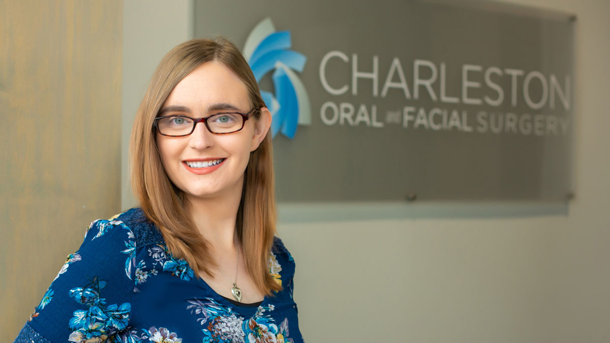 """Dr. Katrina Myers of Charleston Oral and Facial Surgery. """"Getting to the Root of the Problem"""" article photo of Dr Myers by Jenn Cady Photography."""